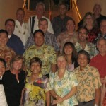 Members of the Association Advisory Board meet with Hawai`i Convention Center management.