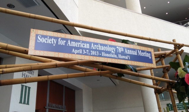Welcome Society for American Archaeology!
