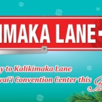 kalikimaka lane holiday party venue at hawaii convention center