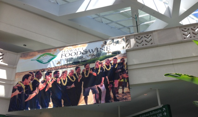 Hawaiian Airlines Presents Corks & Forks at the Hawai`i Convention Center