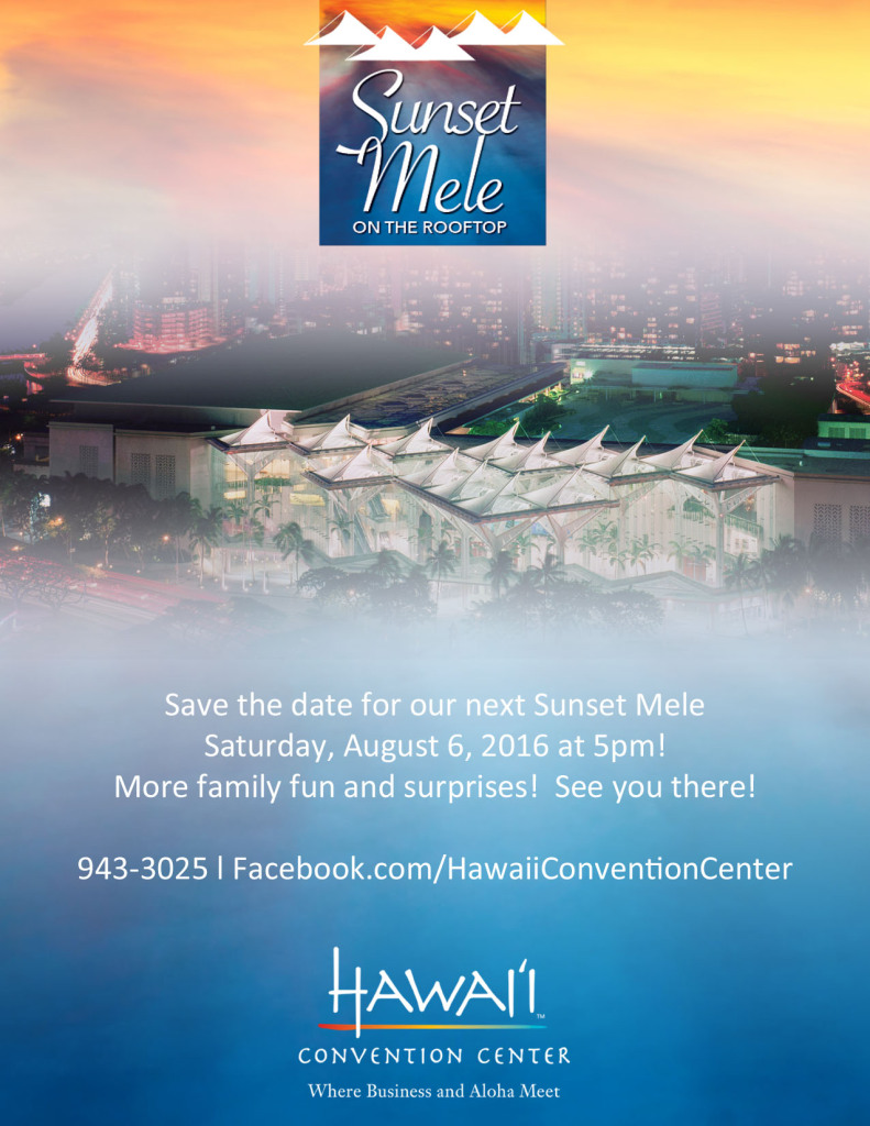Save the Date_Sunset Mele 2016