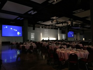 Dinner Function in our Kamehameha Exhibit Hall