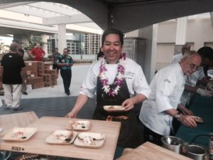 HCC's-own-Chef-Kevin-Nakata-at-the-2016-Hawaii-Food-and-Wine-Festival