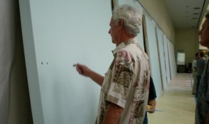 Joe Davis at the Hawaii Kakou mural