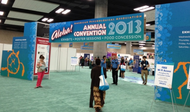 american psychological association exhibit hall