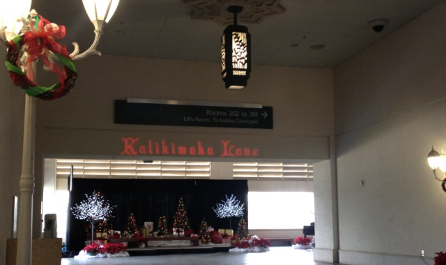 entrance to kalikimaka lane
