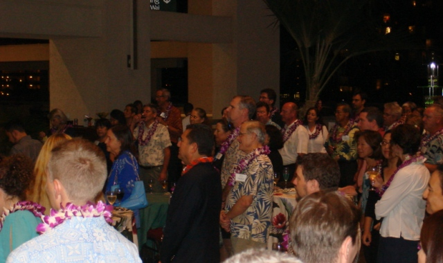 Hawai`i welcomes representatives from the International Union for Conservation of Nature with a reception at the Hawai`i Convention Center.