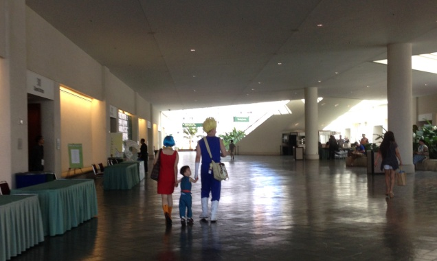 Kawaii Kon at the Hawaii Convention Center, April 4-6, 2014.