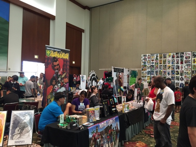 Comics and sci-fi fans gather at the very first Comic Con Honolulu!